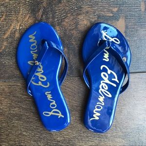 Sam Edelman Girls Olivia Charm Flip Flip Sandals